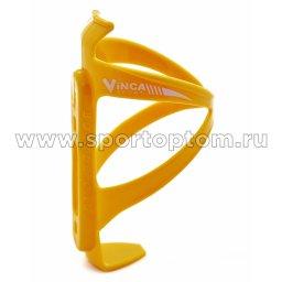 Вело Держатель фляги пластик HC 13 Желтый