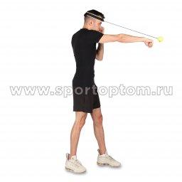 Эспандер боевой мяч Fight Ball INDIGO (5)