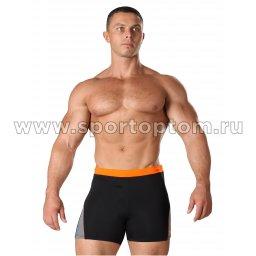 Плавки-шорты мужские SHEPA со вставками 059 M Черный