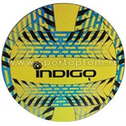 Мяч волейбольный INDIGO RELAX любительский клееный (PU 1,5мм) IN160 Сине-Жёлтый