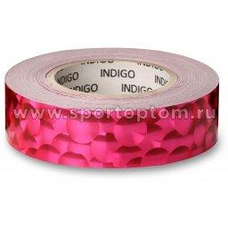 Обмотка для обруча с подкладкой INDIGO 3D BUBBLE IN155 20мм*14м Розовый
