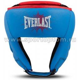 Шлем боксёрский детский EVERLAST PROSPECT PU  P00001647 XS Синий
