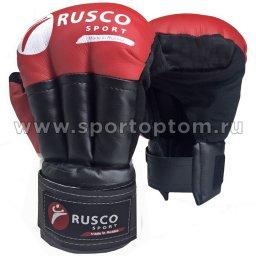 Перчатки для рукопашного боя RUSCO SPORT и/к  RS-32 10 унций Красный