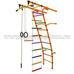 ДСК Стелла - 1С Плюс пристенный С1СП4.15-П  2120*950*525 мм Оранжевый-радуга