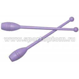 Булавы для художественной гимнастики У714 35 см Фиолетовый