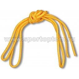 Скакалка для художественной гимнастики Great 80 г RH-01-8 3 м Желтый