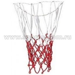 Сетка баскетбольная цветная (пара) Бело-красный