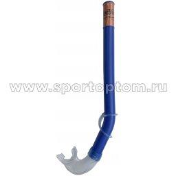 Трубка для плавания детская (с загубником, маскодержатель) 3102 (H062) Синий