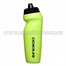 Бутылка для воды INDIGO SANDAL IN225 625 мл Салатово-черный