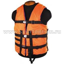 Жилет страховочный до 120 кг SM-026 XL (54-58) Оранжевый