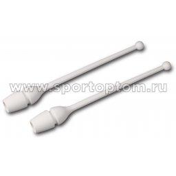 Булавы для художественной гимнастики вставляющиеся AMAYA (термопластик) 320401 36 см Белый