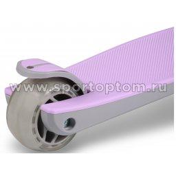 IN244 Самокат детский INDIGO FAST трехколесный до 50 кг Фиолетовый (5)