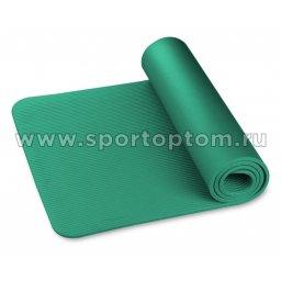 Коврик для йоги и фитнеса INDIGO NBR IN229 173*61*1,2 см Темно-зеленый