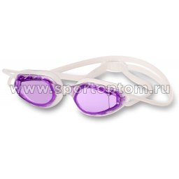 Очки для плавания INDIGO TUNA 2786-6 Бело-фиолетовый