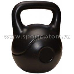 Гиря виниловая 24,0 кг EK-202 24 кг Черный