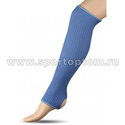 Гетры для гимнастики и танцев Шерсть СН1 40 см Голубой