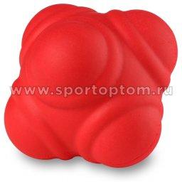 Мяч для развития реакции PRO-SUPRA 01-RC 7 см Красный