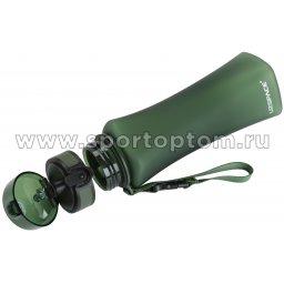 Бутылка для воды с сеточкой UZSPACE 500мл тритан 6008 Зеленый матовый (2)