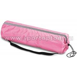 Чехол для коврика со светоотражающими элементами SM-382 75*22 см Розовый