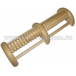 Массажер деревянный для ног Кочка двухсторонний МА4501