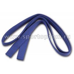 Пояс для кимоно RA-009       2.6 м Синий