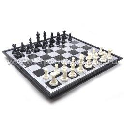 Игра 3 в 1 магнитная  (нарды, шахматы, шашки)  3146 24*24 см