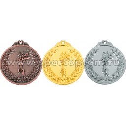 Медаль INDIGO d65мм бронза, лента L**см 65046 ZS                  65 мм