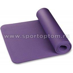 Коврик для йоги и фитнеса INDIGO NBR IN229 173*61*1,2 см Сиреневый