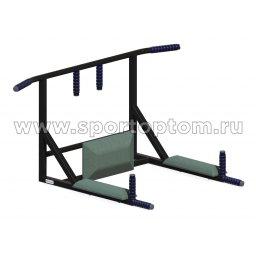 Турник настенный 3 в 1 Стоун до 160 кг T3Ч SP 110 см Черный