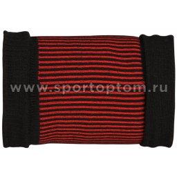 Суппорт запястья эластичный RSC ЛВ22-02 Черно-красный