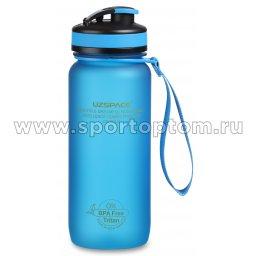 Бутылка для воды с сеточкой и мерной шкалой UZSPACE тритан 3030 Синий