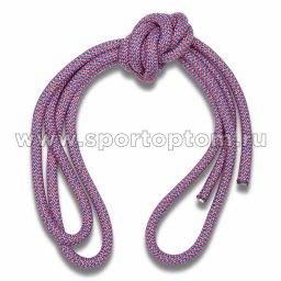 Скакалка гимнастическая (веревочная) Утяжеленная INDIGO ЛЮРЕКС (7)
