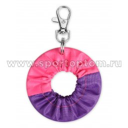 Сувенир брелок чехол для обруча INDIGO SM-393 6 см Фиолетово-розовый
