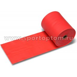 Эспандер ленточный  INDIGO MEDIUM (ТПЭ) 6003-2 HKRB 25м*15см*0,45мм Красный