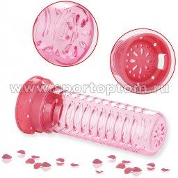 Бутылка для воды с нескользящей вставкой, колбой,сеточкой UZSPACE 700мл тритан 5061 Розовый (5)