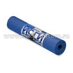 Коврик для йоги и фитнеса INDIGO YG03 Синий (2)