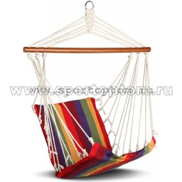 Гамак-Кресло INDIGO тканевый HRHС-11 100*50см Радуга