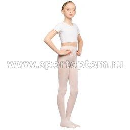 Колготки детские для танцев и балета MAYA 50 den КМ Розовый