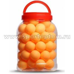 Шарики для настольного тенниса RONIN 60шт в банке G139B 40 мм Оранжевый