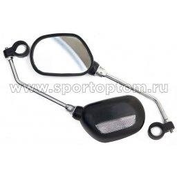Вело Зеркало заднего вида   JY-102 100*65 мм Черный