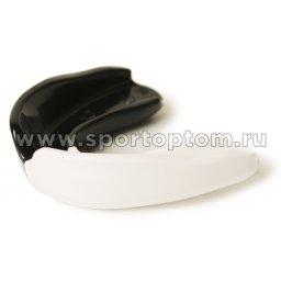 Капа 1 челюстная  INDIGO термо, в контейнере  H2 Черно-белый