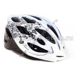 Вело Шлем подростковый VSH 13 58-61 Бело-черный