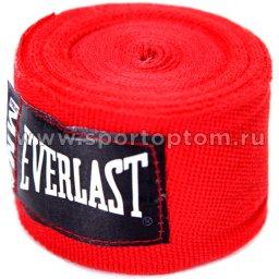 Бинт боксёрский EVERLAST ММА  4453R 2,54 м Красный