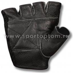 Перчатки атлетич. Кожа + Сетка Е081 (2)
