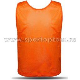 Манишка Сетчатая Спортивные Мастерские SM-248 L Оранжевый