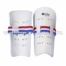 Щитки футбольные INDIGO юношеские пластиковые  2003 TSP L Белый