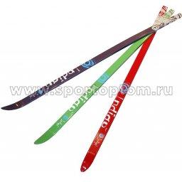 Лыжи полупластиковые INDIGO 160 см Красный