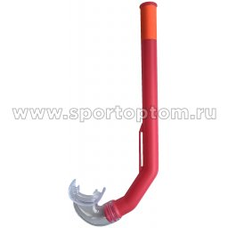 Трубка для плавания детская (с загубником, маскодержатель) 301 Розовый