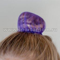 Сеточка для волос INDIGO SM-329          9 см Фиолетовый