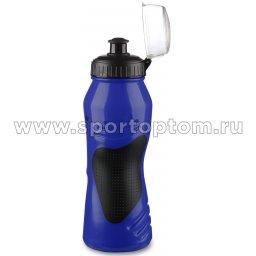 Вело Фляга  INDIGO COMFORT с защитой от пыли антискользящая IN037 Сине-черный (2)